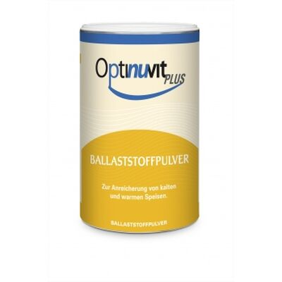 Optinuvit Plus Ballaststoffpulver 6 x 450 g Dose