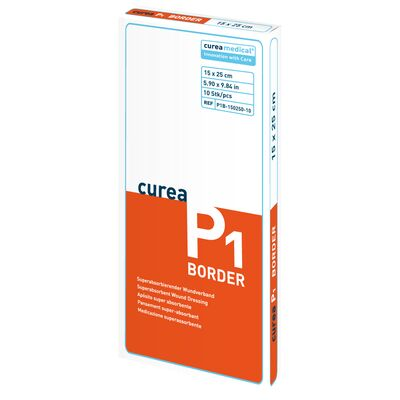 Curea P1 border Wundverband 15x25 cm